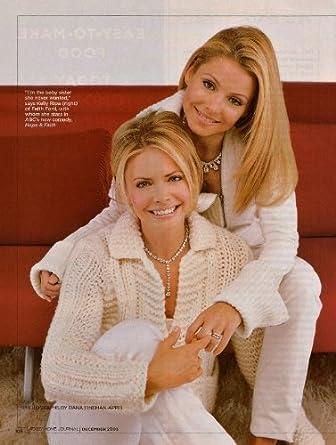 Kelly Ripa Faith Ford Clipping Magazine Photo orig 6pg 8x10 L6880 at
