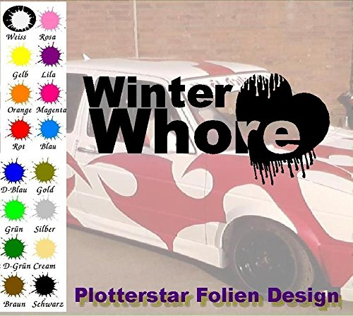 Whore invernale Apps Folien Design - Adesivo per auto a forma di Minion