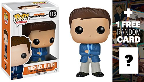 Michael Bluth: Funko POP! x Arrested Development Vinyl Figure + 1 FREE Official Hollywood themed Trading Card Bundle [39431]
