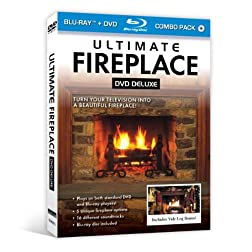 Ultimate Fireplace DVD Deluxe (+ Bonus Blu-ray disc)