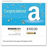 Amazon Gift Card - E-mail - Congratulations!