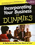 img - for By The Company Corporation - Incorporating Your Business For Dummies (1st Edition) (2/17/01) book / textbook / text book