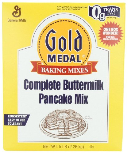 Gold Medal Complete Buttermilk Pancake Mix, 5 Pound (Pack of 6) (Gold Medal Mix compare prices)