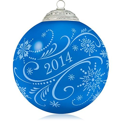 Christmas Commemorative Ball Ornament #1 Series 2013 Hallmark Ornament