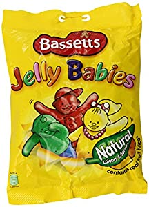 Bassetts Jelly Babies 215gr (7.6oz) Bag