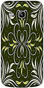 Snoogg seamless floral pattern abstract background Hard Back Case Cover Shield For Samsung Galaxy Core 2