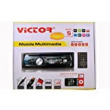VICTOR 5000S MAX POWER CAR DVD/DIVX/VCD/MP4/MP3/CD COMPATIBLE STEREO PLAYER WITH REMOTE