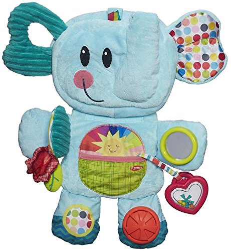 Playskool Fold 'n Go Busy Elephant - Blue - 1