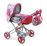 Bayer Chic 2000 587 79 - Combinado Puppenwagen Bambina, Princesa Lillifee