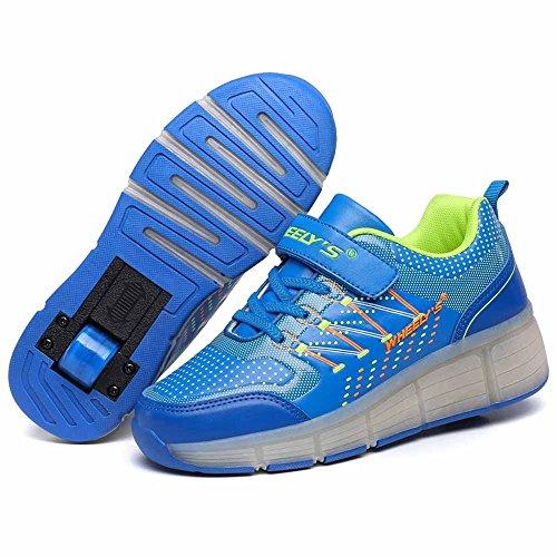 Zapatos-del-patn-zapatos-deportivos-nios-y-nias-de-calzado-deportivo-zapatos-de-skate-pen-neutra-con-luces-LED-parpadeante-ruedas-de-patines-de-rueda-patn-zapatos