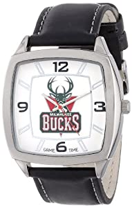 NBA Mens NBA-RET-MIL Retro Series Milwaukee Bucks Watch by Game Time