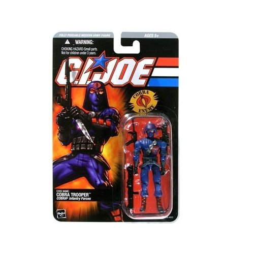 G.I. Joe Series 3 Cobra Trooper Action Figure