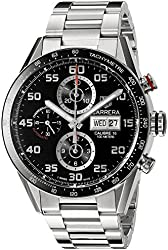 TAG Heuer Men's CV2A1R.BA0799 Analog Display Swiss Automatic Silver Watch