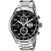 TAG Heuer Men's CV2A1R.BA0799 Analog Display Swiss Automatic Silver Watch