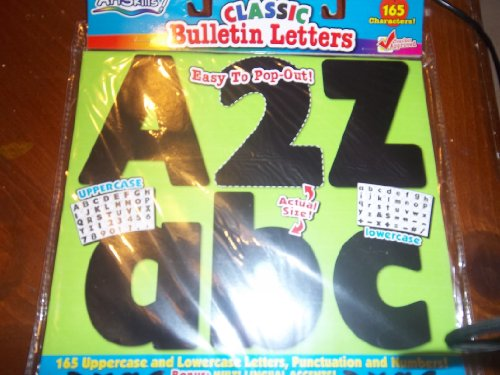 Classic Bullentin Letters Easy To Pop-out - 1