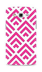Amez designer printed 3d premium high quality back case cover for Samsung Galaxy Grand Max (pink arrow pattern )