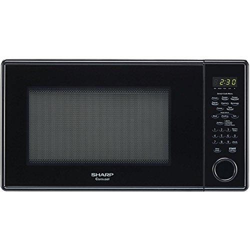 Sharp R459Yk Carousel Countertop Microwave Oven, 1000-Watt , Black