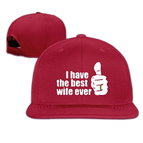 Custom Unisex-Adult Best Wife Ever Thumb Casual Baseball Caps Red (Galaxy Note 4 Tiffany And Co Case compare prices)