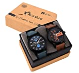 #3: Rich Club Combo of 2 Analogue Black Dial Mens and Boys Watches-Rel-Denim