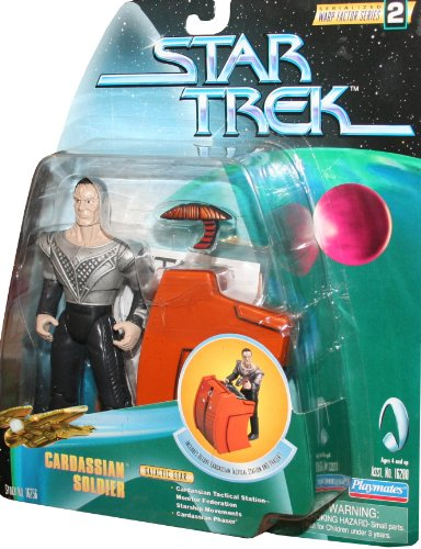 Star Trek Warp Factor Series 2 Cardassian Soldier W/tactical Statio