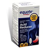 Equate - Heartburn Relief - Acid Reducer, Cimetidine 200 mg, 60 Tablets (Compare to Tagamet HB 200)
