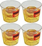 Rink Drink Jager Bomb Reusable Shot Glasses - Gift Box of 4