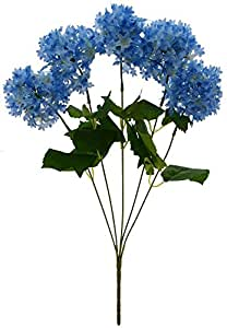 Fourwalls Artificial Hydrangea Flower Bouquet