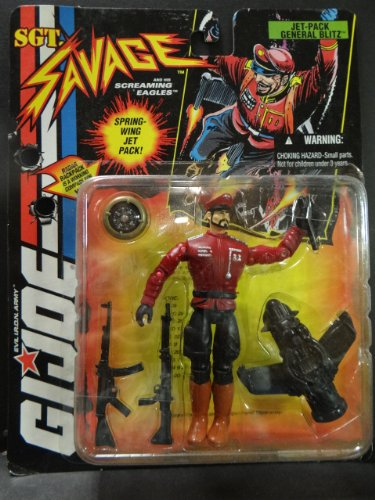 GI Joe Sgt Savage Jet-Pack General Blitz
