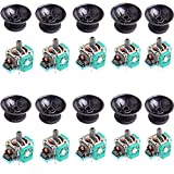 10 x 3D Rocker Analog Joystick Sensor Module with Thumb Sticks for Sony Playstation 4 PS4 DualShock 4 Wireless Controller Controller Replacement