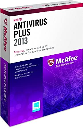 McAfee Antivirus Plus 3PCs 2013