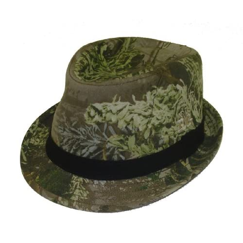 Amazon.com : Realtree Outfitters Girl's Camo Fedora Cap
