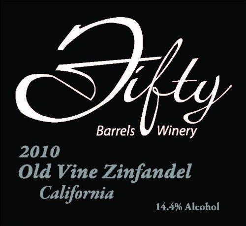 2010 Fifty Barrels Rancho Cucamonga Old Vine Zinfandel 750 Ml