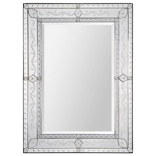 Ren-Wil Mt1268 Gianna Wall Mount Mirror By Kelly Stevenson And Jonathan Wilner, 48 By 37-Inch front-958386