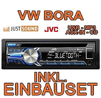 VOLKSWAGEN bora jVC-kD-r852BT cD/mP3/uSB avec kit de montage