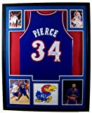Paul Pierce Framed Jersey Signed Steiner COA Autographed Kansas Jayhawks Boston Celtics at Amazon.com