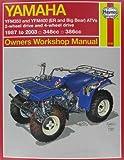 img - for Yamaha Yfm350 Atv Owners Workshop Manual: Models Covered : Yfm350Er, 1987 Through 1995, Yfm350Fw (Big Bear), 1987 Through 1995 (Hayne's Automotive Repair Manual) book / textbook / text book