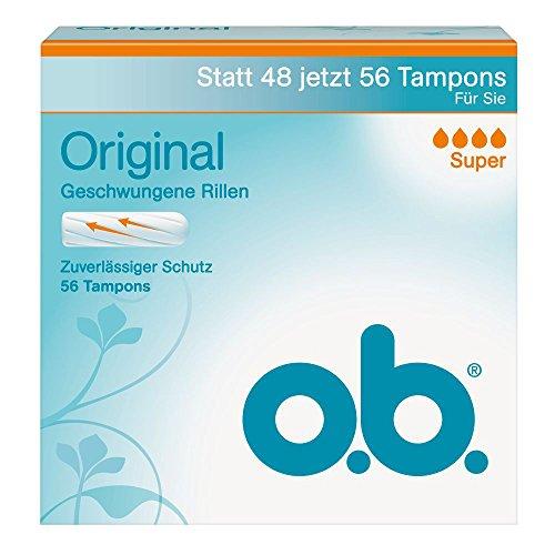 o.b., Assorbenti interni, Super, 1 confezione (1 x 56 pz.)