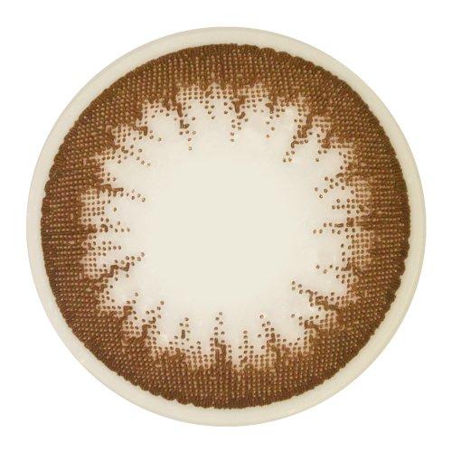 アレグロ 1年使用 ソプラノブラウン 度数ー1 1枚入 レンズ直径14.0mm