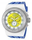 Invicta Akula Sport Swiss Chronographe Cadran Jaune Bleu Blanc Silicone 12322