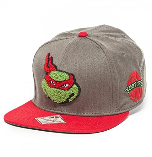 Fuzzy Raphael Teenage Mutant Ninja Turtles Snapback