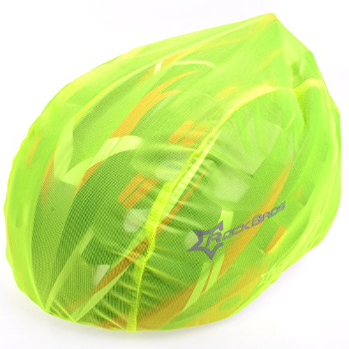 RockBros Windproof Dust-proof Rain Cover Mountain Road Bike Helmet Cover Green (Cycling Helmet Cover compare prices)