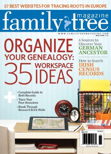 Family Tree Magazine (1-year) [Print + Kindle]