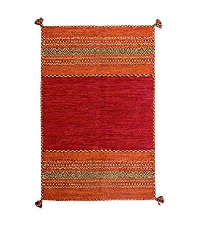RugSense tapijt Kelim Tribal rood 230 x 163 cm