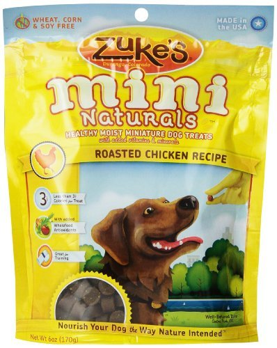 Zuke'S Mini Naturals Dog Treats Savory Salmon Recipe, 16-Ounce (Pack Of 2)