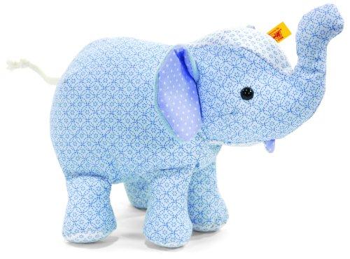 Steiff Steiff«s little circus elephant, light blue Baby Plush