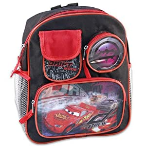 "11"" Mini Cars Backpack Multiple Cargo"