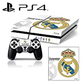 [PS4] Soccer FC #6 Liga BBVA - Real Madrid CF Whole Body VINYL SKIN STICKER DECAL COVER for PS4 Playstation 4 System Console and Controllers
