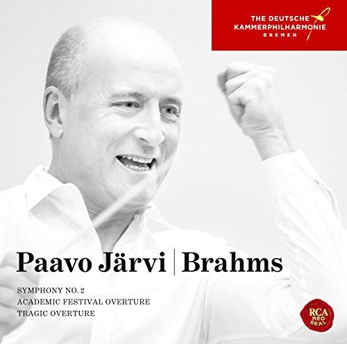 ブラームス:交響曲第2番、悲劇的序曲&大学祝典序曲