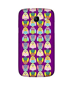 Stripes And Elephant Print-29 Samsung Galaxy Core I8260 Case