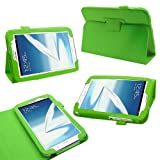 Samrick Executive Specially Designed Leather Book Folio Wallet Case with Exclusive Viewing Stand for 8.0 inch Samsung N5100/N5110 Galaxy Note - Green